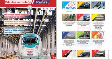 """""""Demiryolu Mühendisliği – Railway Engineering"""" Dergimizin 10. Sayısı Çıktı"""