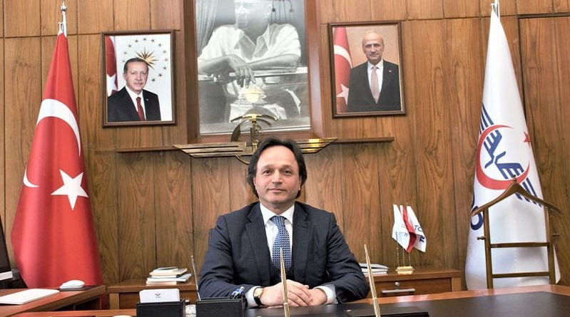 TCDD Genel Müdürü Sn. Ali İhsan UYGUN'a Hayırlı Olsun Ziyareti