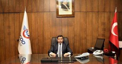 TCDD Taşımacılık AŞ Genel Müdürü Sn. Erol ARIKAN'a Hayırlı Olsun Ziyareti