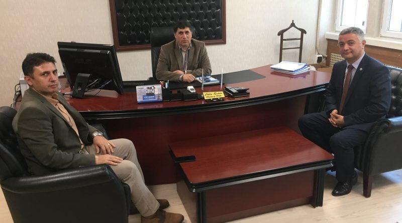 DATEM'in Yeni İşletme Müdürü Atila KESKİN Ziyaret Edildi