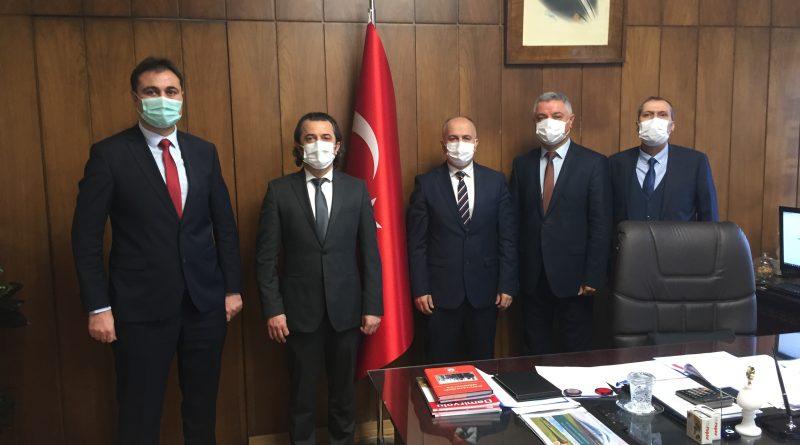 TCDD Taşımacılık A.Ş. Genel Müdürü Hasan PEZÜK'e Hayırlı Olsun Ziyareti
