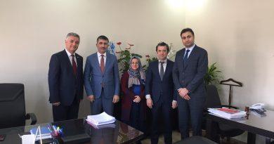 TCDD'nin Yeni Genel Müdür Yardımcısı Metin AKBAŞ Ziyaret Edildi