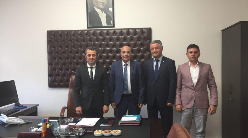 TCDD Taşımacılık AŞ Genel Müdür Yardımcısı Mehmet AKSOY'a Hayırlı Olsun Ziyareti