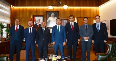 TCDD Genel Müdürü Sayın Metin Akbaş'a Hayırlı Olsun Ziyareti