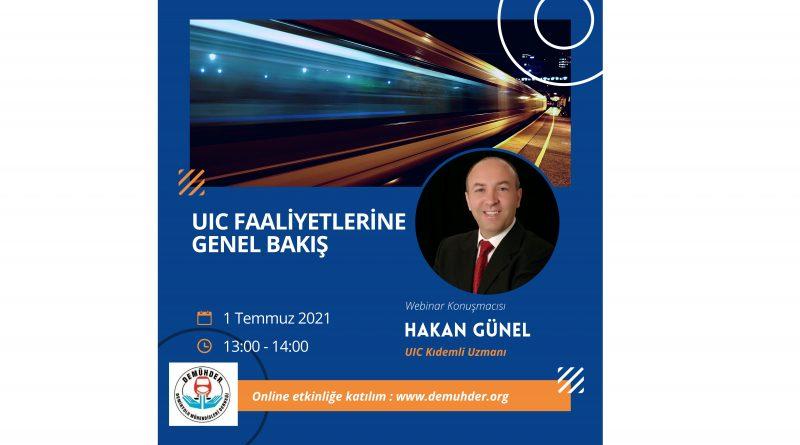 UIC Faaliyetlerine Genel Bakış Webinarı